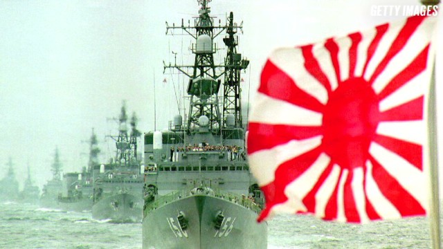 Why is Japan firing up planes, warships?