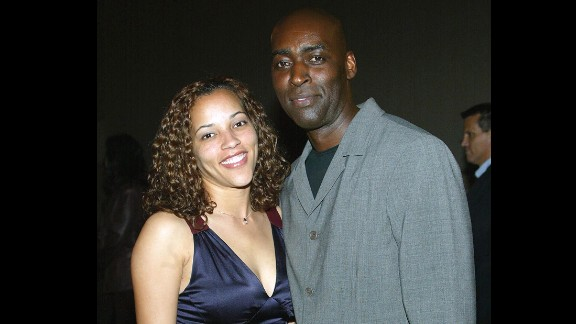"""Actor Michael Jace, right, was convicted  of second-degree murder in the 2014 fatal shooting of his wife, April. Jace appeared in several movies and was a regular on the hit FX show """"The Shield."""""""