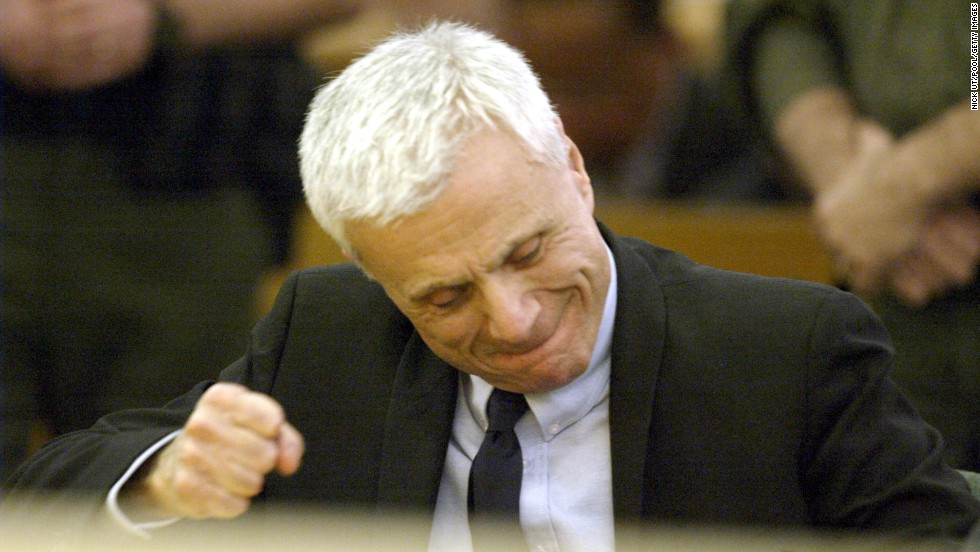 Actor Robert Blake is found not guilty of murdering his wife, Bonny Lee Bakley, in 2005 in Van Nuys, California. Bakley was shot in the head while sitting in the couple's vehicle.