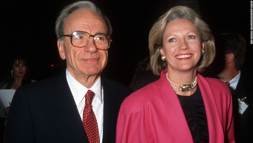 Media magnate Rupert Murdoch paid $1.7 billion to ex-wife Anna.