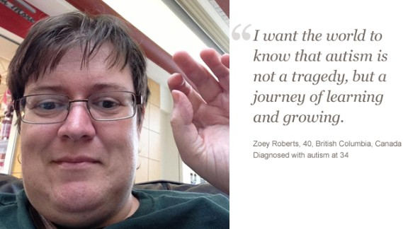 CNN iReport asked adults on the autism spectrum to describe how the disorder affects them. Learn more about Zoey