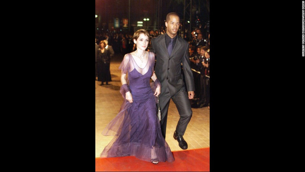"U.S. actress Winona Ryder arrived at the 51st Cannes film festival with a man she would not reveal the identity of. She did however reveal her love of tulle. The pair attended the gala screening of ""Fear and Loathing in Las Vegas"" directed by Terry Gilliam."