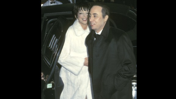 The fourth time wasn't exactly the charm when Liza Minnelli married music promoter David Gest in New York in 2002. Elizabeth Taylor and Michael Jackson were the matron of honor and best man as the couple wed before 850 guests. Minnelli and Gest were divorced in 2007.