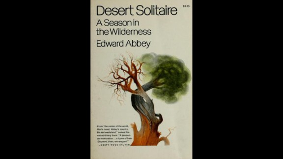 """Author Joshua Ferris plans to read the 1968 classic, """"Desert Solitaire,"""" by Edward Abbey. The autobiographical work from the legendary author of """"The Monkey Wrench Gang"""" captures Abbey's three seasons as a park ranger in Utah."""