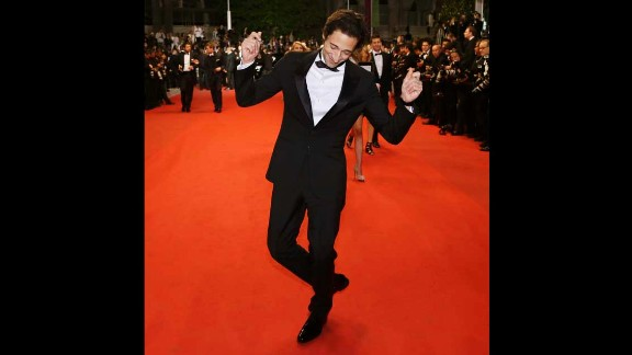 Actor Adrien Brody on May 20.
