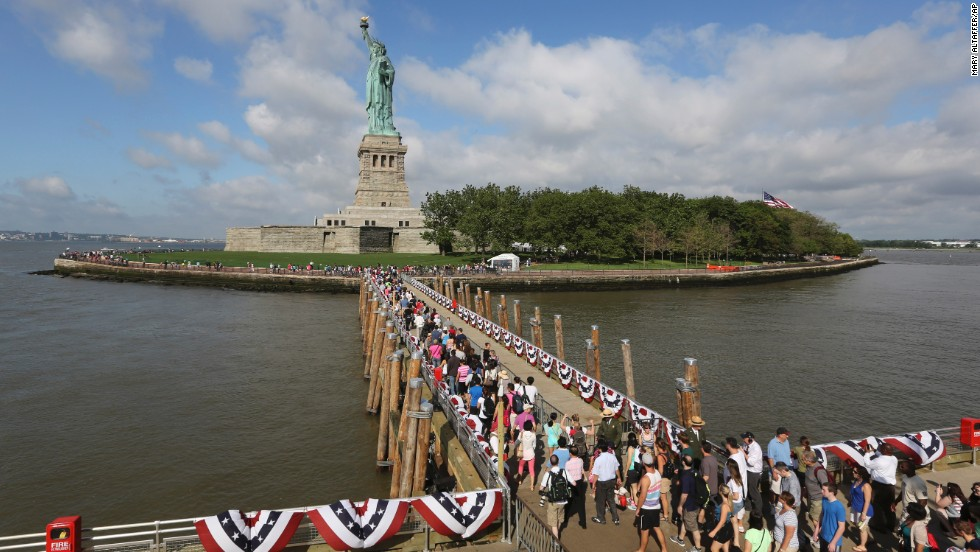 "Protections have already been added to the Statue of Liberty and Ellis Island in New York, but will they be enough in an era of climate change? Listing 30 at-risk sites, <a href=""http://www.ucsusa.org/global_warming/science_and_impacts/impacts/national-landmarks-at-risk-from-climate-change.html"" target=""_blank"">a report released by the Union of Concerned Scientists</a> contends rising seas are endangering many of America's landmarks. Here's a look at some of them:"