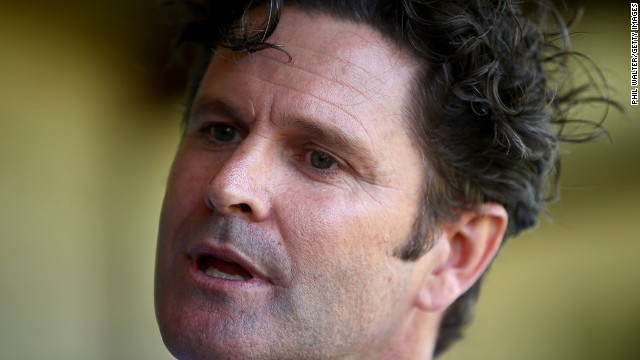 Former cricketer Chris Cairns in February after it was revealed he was under investigation for match-fixing.