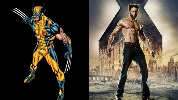 The most popular member of the X-Men, Wolverine has appeared in each one of the films, including his own solo films. Hugh Jackman has been able to bring the famous attitude of the comic book character to the big screen.