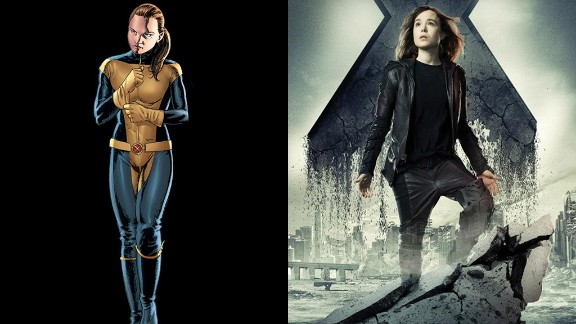 """Ellen Page reprises her role as Kitty Pryde, a fan favorite in the comics. Word has it that her role is larger here than it was in """"Last Stand."""""""