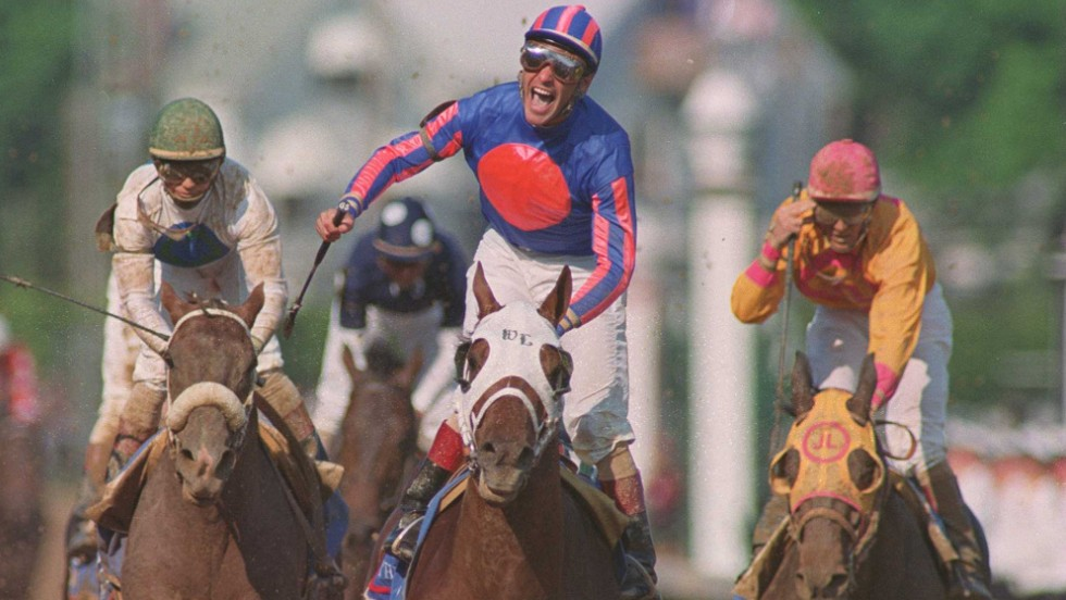 A second followed in 1995 on board Thunder Gulch in a race he sees as the pinnacle of the sport of kings.