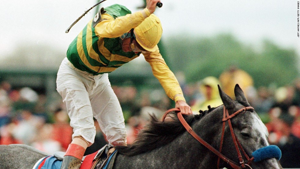 His third and, to date, last Kentucky Derby victory was in 1997 on board Silver Charm.