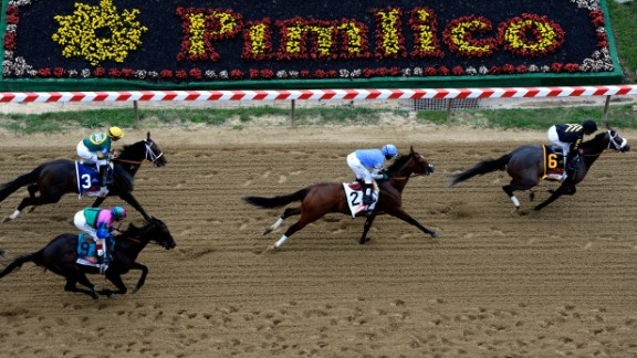 After his comeback in early 2013, Stevens rode Oxbow to victory in that year's Preakness Stakes.