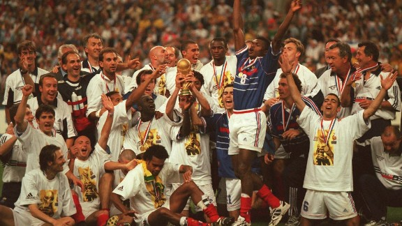 """""""We had the players from all around the world and I think we showed the diversity of the French national team,"""" Vieira told CNN. """"We showed what the diversity of the French people are, and that"""