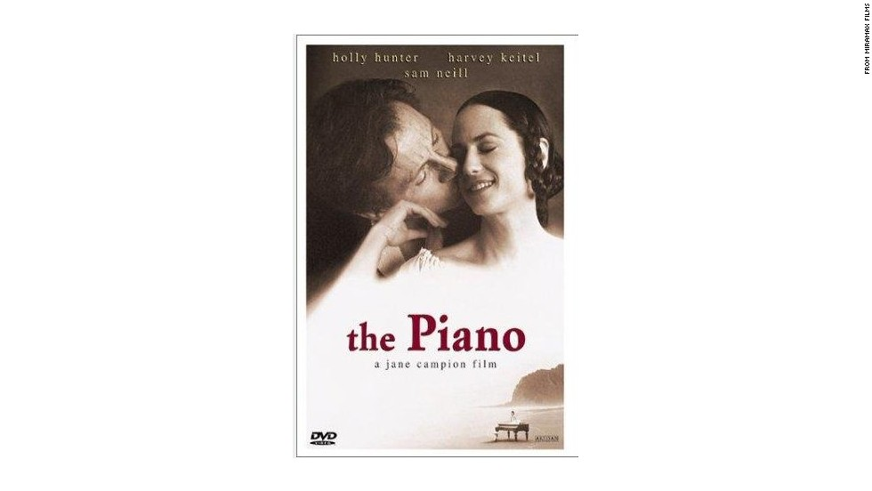 "Holly Hunter as mute piano player Ada McGrath in ""The Piano,"" which won Jane Campion the Palme d'Or."