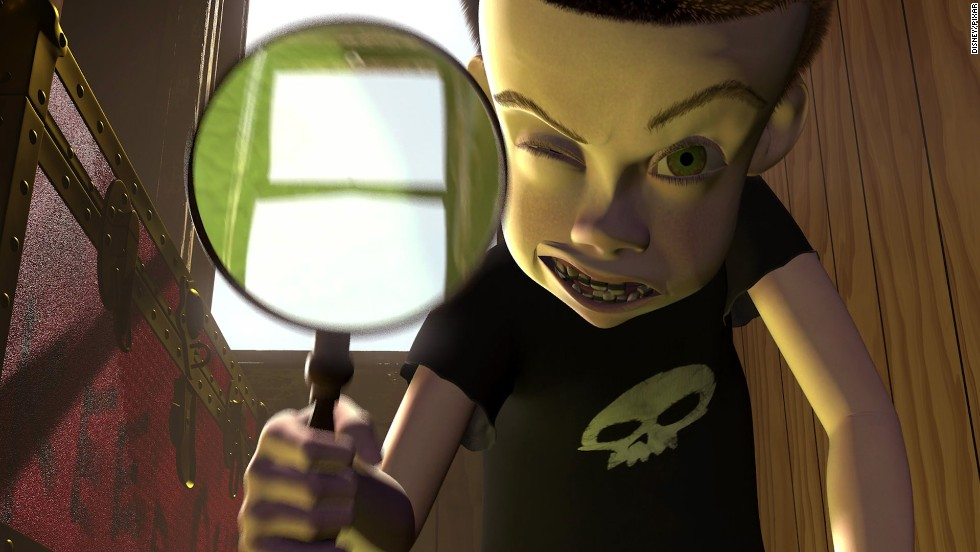 "Help us if we ever have to live next door to a preteen terror like ""Toy Story's"" Sid Phillips. The main villain in Disney/Pixar's 1995 hit was uncomfortably fixated on brutally destroying every toy he found."