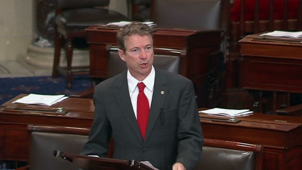Sen. Paul protests nominee over drones
