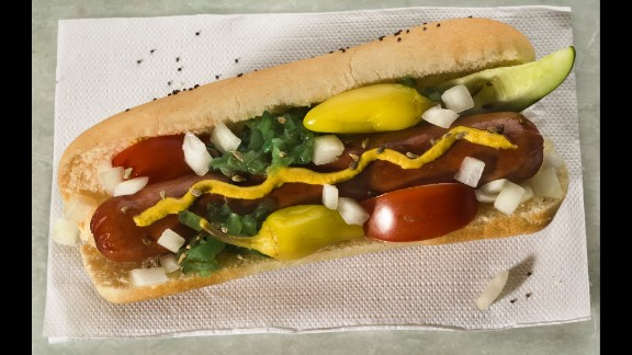 The hot dog is a staple to American summer holidays. Take a look at hot dogs in America throughout history.