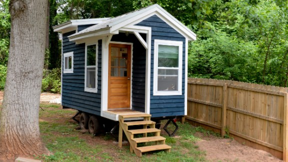 For now, the house lives in Suzannah and Sicily's back yard just outside Atlanta. This summer, it will move with them when they return to Suzannah's hometown of Baltimore.