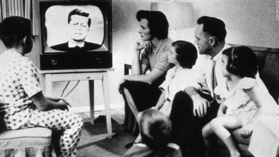 "By 1960, television was firmly entrenched as America's new hearth.<a href=""http://www.tvb.org/media/file/TV_Basics.pdf"" target=""_blank""> Close to 90% of households had a TV</a>, making the device almost ubiquitous. The ensuing decade would see the medium grow in both importance and range."