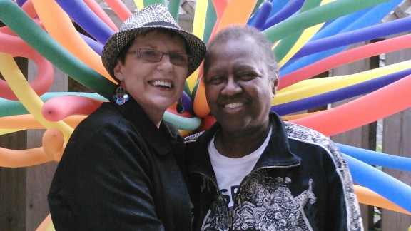 Pat Ewert and Vernita Gray