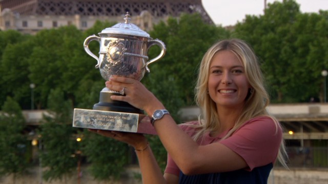 Sharapova's love affair with Paris