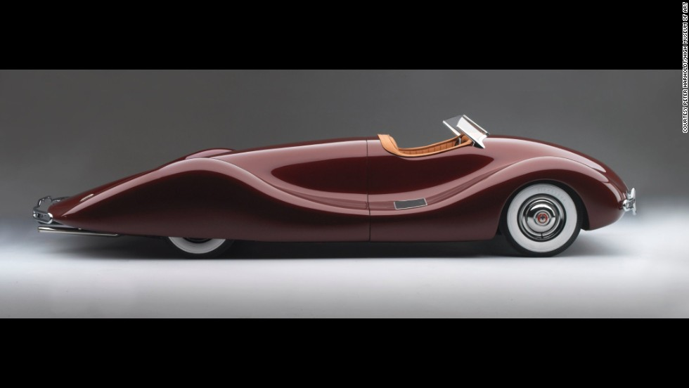 Art museum features concept cars with unique designs. - CNN Style