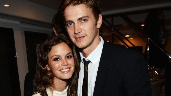 """All of the hoopla surrounding the end of their engagement in 2010 may contribute to why Rachel Bilson and Hayden Christensen don't really discuss their now-reconciled relationship. It was <a href=""""http://www.usmagazine.com/celebrity-moms/news/rachel-bilson-pregnant-jaime-king-says-costar-wanted-a-baby-so-badly-2014265"""" target=""""_blank"""" target=""""_blank"""">reported in May that the couple were expecting their first child. </a>"""