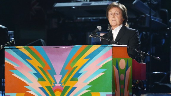 Paul McCartney will be out and about performing to promote his album in the next few months.