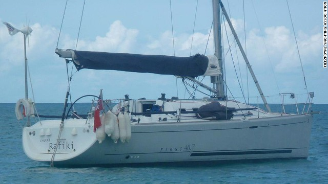 U.S. Coast Guard finds capsized yacht