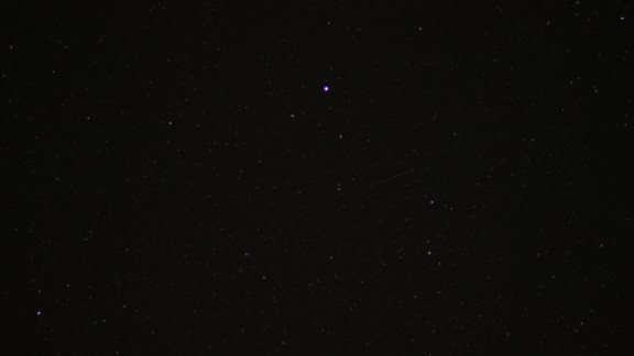 Garet Foote was in Big Rapids, Michigan, watching the skies for the much anticipated Camelopardalids meteor shower. He says it was underwhelming, but he's looking forward to photographing upcoming meteor showers in the future.