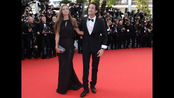 Lara Lieto and Adrian Brody on May 24.