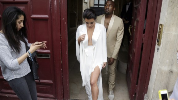 Kim Kardashian and Kanye West's 2014 wedding included a trip to Versailles, a brunch hosted by Valentino and nuptials in Florence.