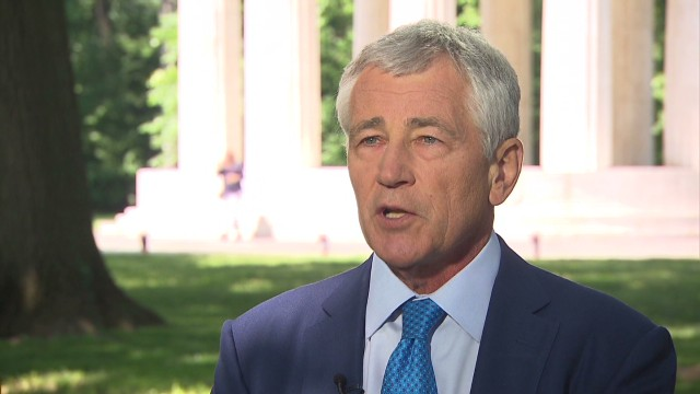 "Hagel: Obama critics ""simplistic"""