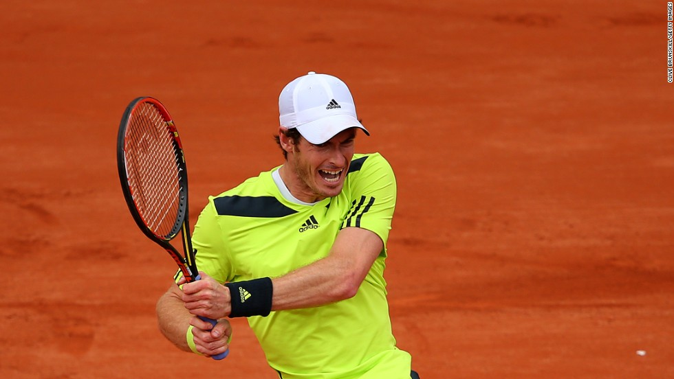 Two-time grand slam champion Andy Murray, from Britain, needed four sets to see off the challenge of Andrey Golubev from Kazakhstan, 6-1, 6-4, 3-6, 6-3. The No. 7 seed missed last year's tournament in Paris through injury.