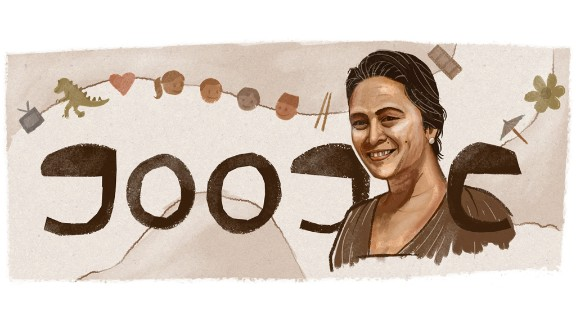 A Doodle on January 7, 2014, in Malaysia celebrated director and writer Yasmin Ahmad's 56th birthday.