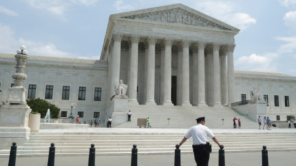 Court announced a ruling in the case Hall v. Florida, finding that the state had adopted too rigid a cutoff in deciding who is eligible to be spared the death penalty because of intellectual disabilities, May 27, 2014 in Washington, DC. There are 10 major case decisions yet to be announced by the Supreme Court, including a ruling in Sebelius v. Hobby Lobby Stores and Conestoga Wood Specialties v. Sebelius, and just five announcement days on the court