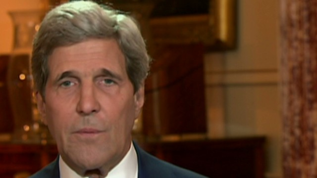 Kerry defends diplomacy in Syria