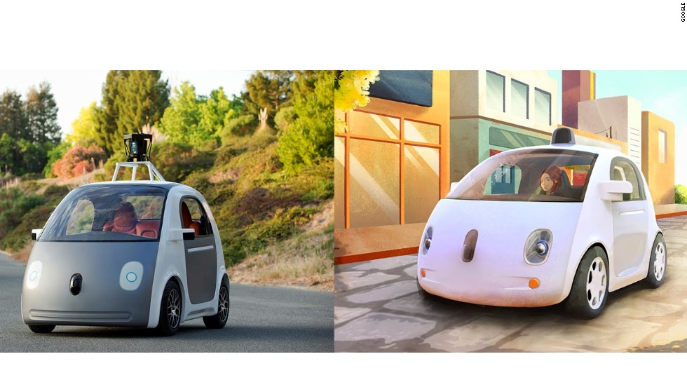 Google Unveiled This Self Driving Car Prototype Tuesday In California The Doesn