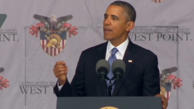 Obama: We stand for more lasting peace