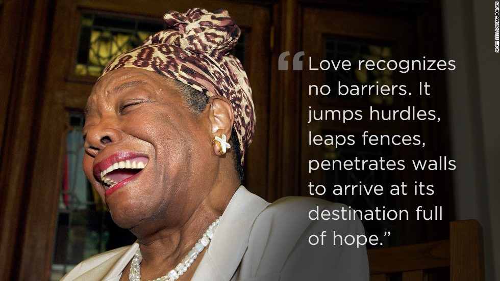 Opinion How Maya Angelou Gave Me Life Cnn
