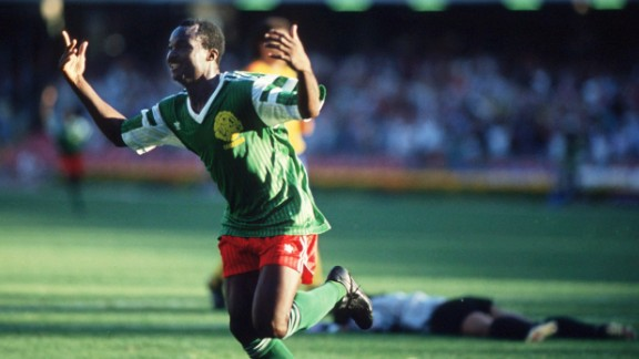 Cameroon was the first African nation to really take the World Cup by storm in 1990 as a 38-year-old Roger Milla inspired the Indomitable Lions to a quarterfinal spot -- a first at the time for an African side.
