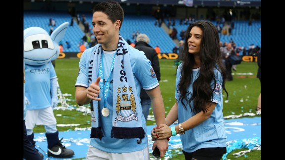 Model Anara Atanes landed herself in hot water after she launched a Twitter tirade at  French coach Didier Deschamps when boyfriend Samir Nasri was left out of the World Cup squad. Deschamps reacted by filing a lawsuit against her.