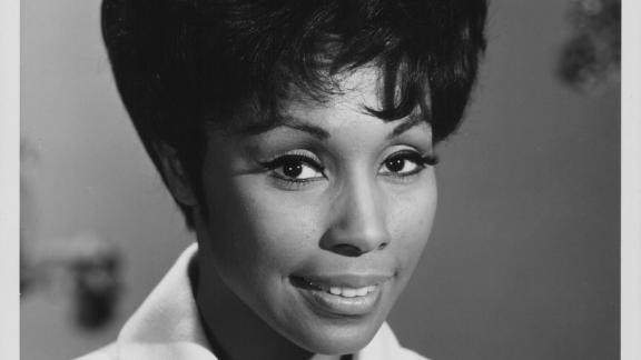 """Diahann Carroll starred in a groundbreaking TV sitcom, """"Julia,"""" playing an African American single mother -- a daring show for the time."""