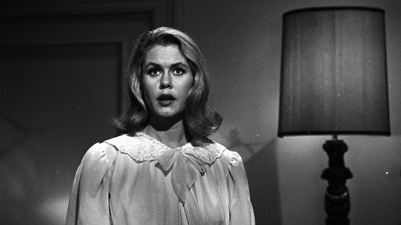 """Elizabeth Montgomery twitched her nose and made magic happen as Samantha the witch in """"Bewitched,"""" a show that premiered in 1964."""