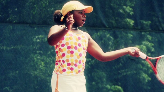 Teen tennis star hushes weight critics