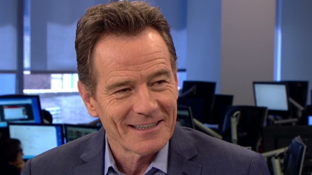 Bryan Cranston inspired to act by a kiss
