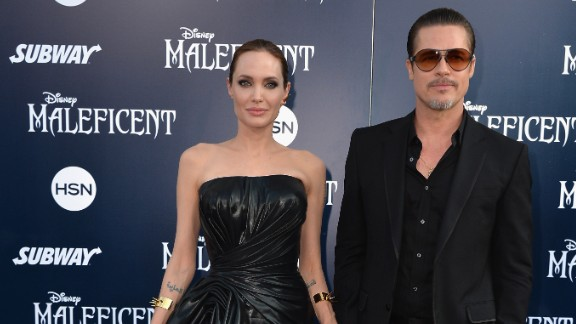 """Angelina Jolie and Brad Pitt kept it small and intimate <a href=""""http://www.cnn.com/2014/08/28/showbiz/celebrity-news-gossip/brad-pitt-angelina-jolie-married/"""">when they married in August.</a> They share bits and pieces about their family life, but not much."""