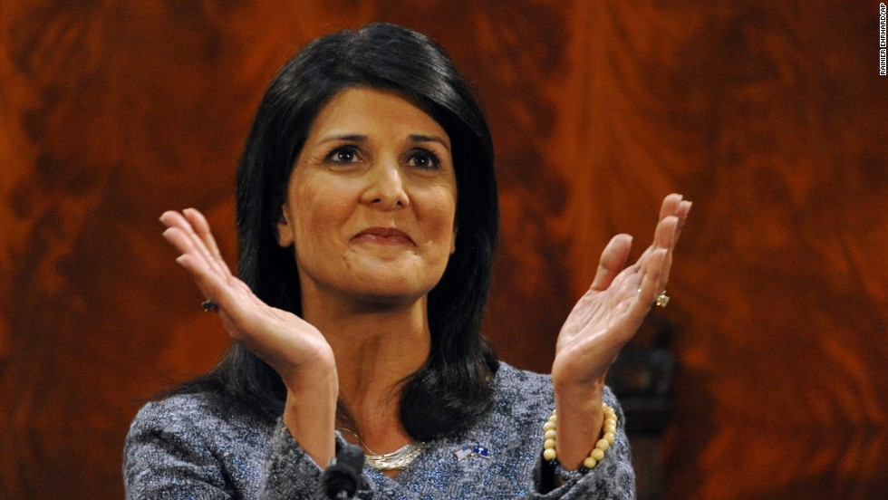 South Carolina Gov. Nikki Haley is seen as a GOP rising star and is often cited by political analysts as a woman who could one day land on a presidential ticket. Her name is often mentioned in GOP circles as strong potential vice presidential pick.