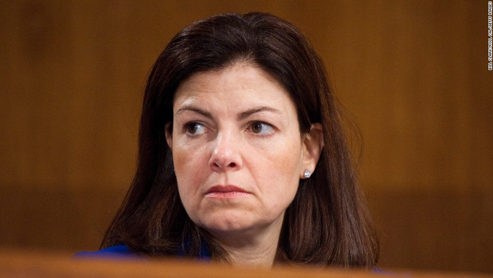 "Sen. Kelley Ayotte, R-New Hampshire, received the backing of 2008 vice presidential candidate Sarah Palin. She is seen in conservative circles as a rising star and someone who could also possible make ""a good running mate."""