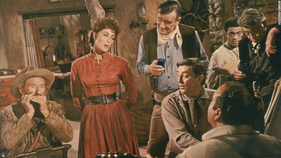 "<strong>""El Dorado"" (1966)</strong> - Robert Mitchum and John Wayne star in this classic about a gunslinger who joins forces with a sheriff in a war over water. (Netflix)"
